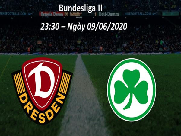 Nhận định Dynamo Dresden vs Greuther Furth 23h30 ngày 9/6