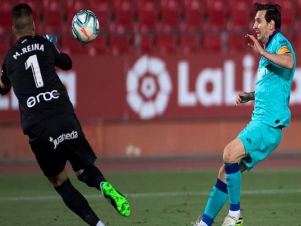 Lionel Messi lại tiếp tục ghi danh vào bảng kỷ lục của La Liga.