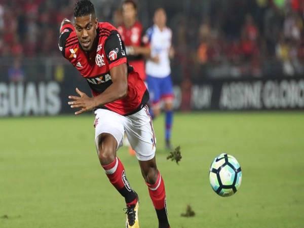Cầu thủ Orlando Berrio (36 km/h)