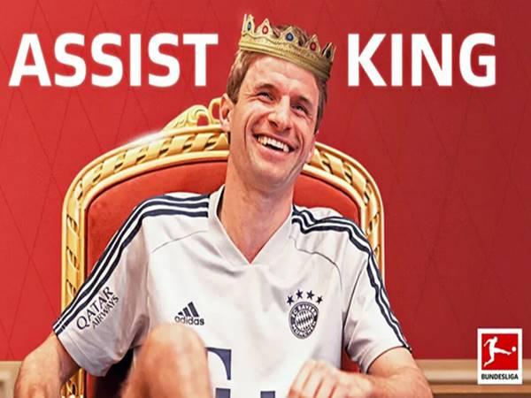 Vua kiến tạo Bundesliga