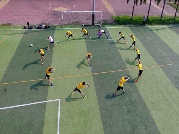 Một số bài tập tăng thể lực cho các cầu thủ bóng đá