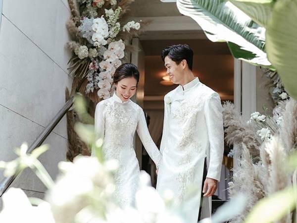 Những hình ảnh đẹp trong đám cưới Công Phượng