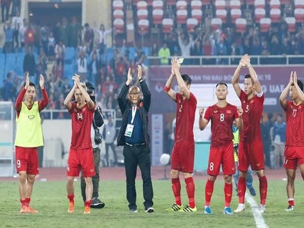 Trên BXH FIFA tháng 6 đội tuyển Việt Nam lại dẫn đầu Đông Nam Á