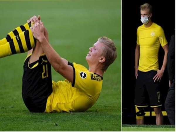Erling Haaland không ra sân trong trận gặp Hertha Berlin vào cuối tuần