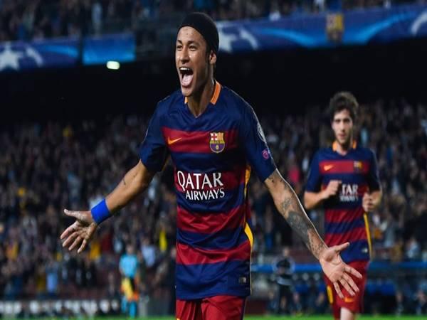 Ảnh Neymar mang áo Barca