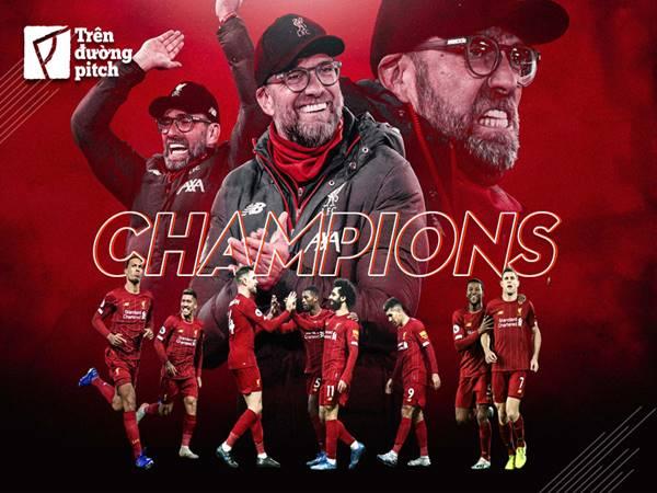 Sau 30 năm cuối cùng Liverpool cũng vô địch Premier League