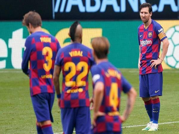 Tổng hợp tình hình các đội bóng vòng 32 La Liga