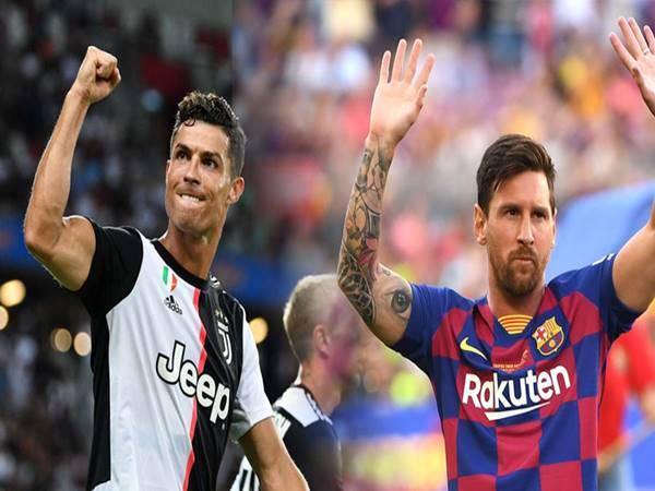 Tổng số những bàn thắng của Messi và Ronaldo là bao nhiêu?