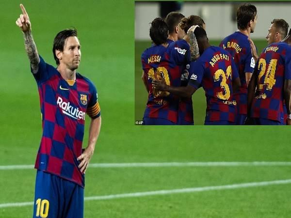 Chiến thắng 2-0 của Barca trước Leganes có lợi ích gì cho Barcelona