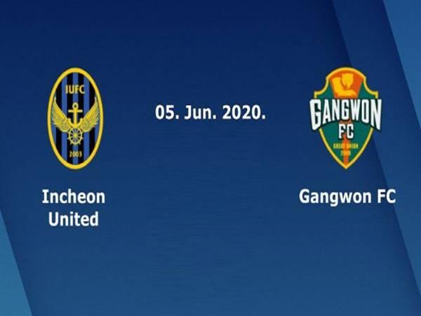 Nhận định Incheon United vs Gangwon FC, 17h30 ngày 05/06