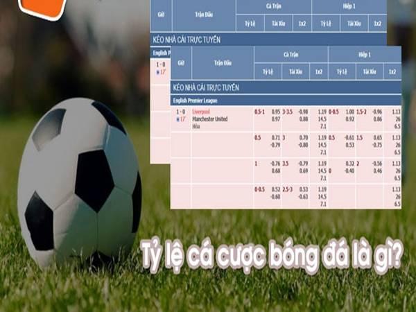 Tỷ lệ cá cược bóng đá là gì? Các dạng tỷ lệ cá cược bóng đá hiện nay