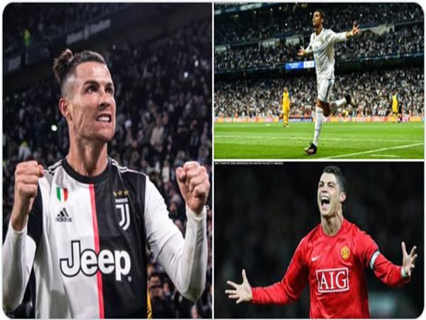 Với những siêu phẩm của mình Ronaldo lại lập kỷ lục mới