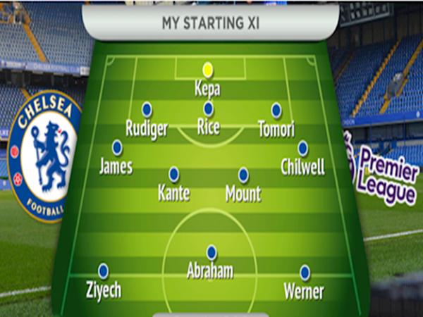 Đội hình của Chelsea sau kỳ chuyển nhượng năm 2020
