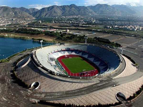 Sân vận động bóng đá lớn nhất thế giớiAzadi
