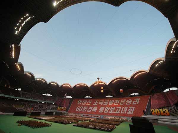 Sân Rungrado May Day – Triều Tiên