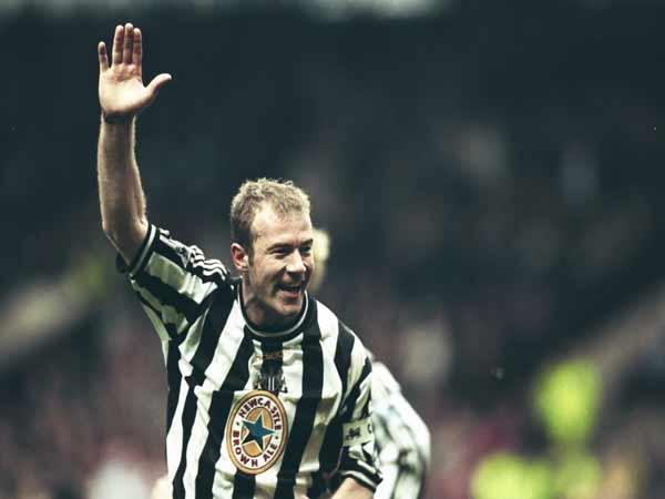 Alan Shearer được xem là tay săn bàn hàng đầu của nước Anh