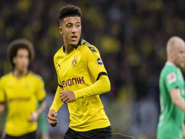 Thần đồng bóng đá Jadon Sancho (Dortmund)