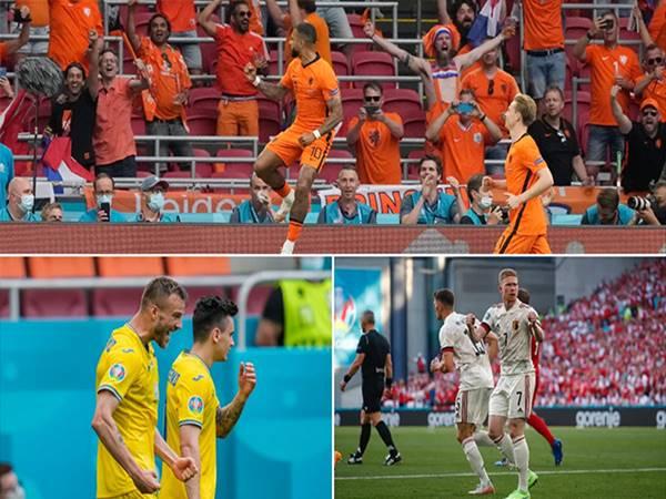 Bóng đá QT 18/6: Hà Lan và Bỉ giành vé đi tiếp vào vòng trong
